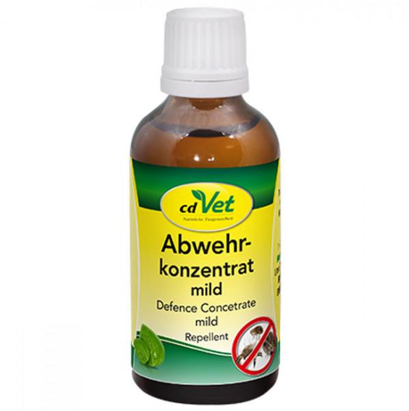 cdVet Abwehrkonzentrat mild für Hunde & Katzen 50ml