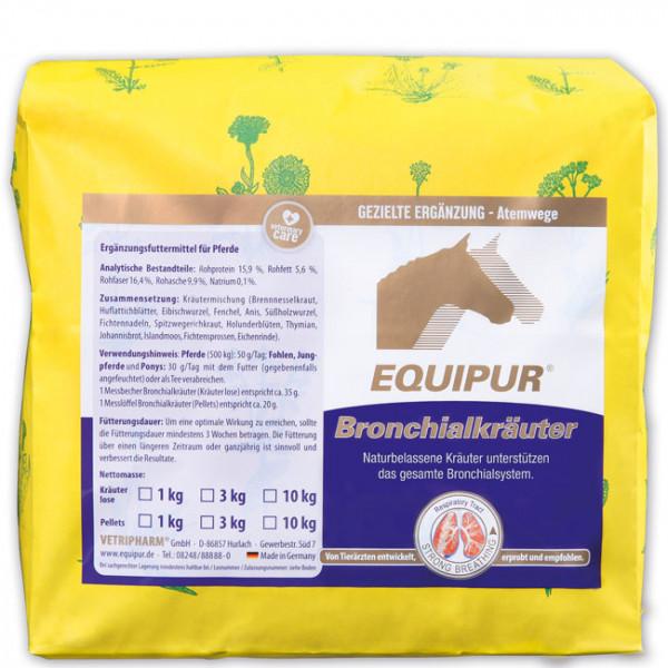 EQUIPUR - Bronchialkräuter 1kg Kräuter lose