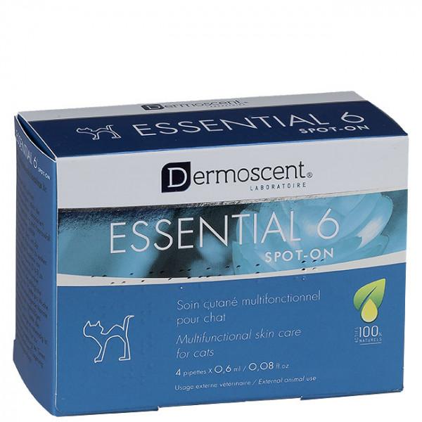 Dermoscent Essential 6 spot-on Katze 4x0,6ml