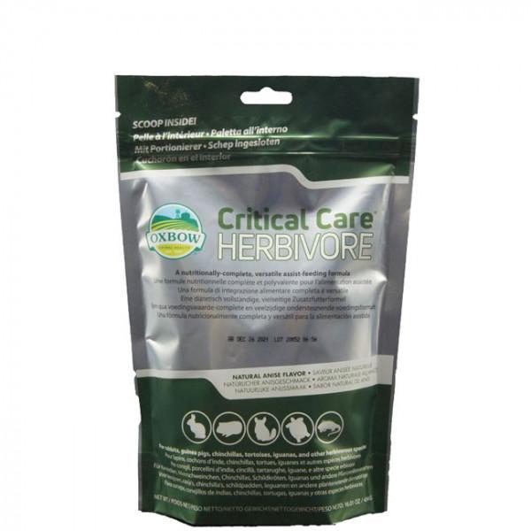 Critical Care Heimtiere Pflanzenfresser Anisgeschmack 141g