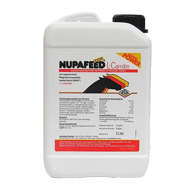 Nupafeed Horse L-Carnitin - 3000 ml