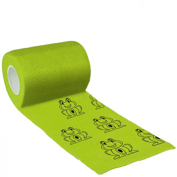 Binde Bandage 7,5cm x 4,5m, Bandage grün, Frosch