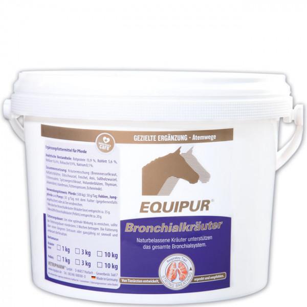 EQUIPUR - Bronchialkräuter 3kg Pellets
