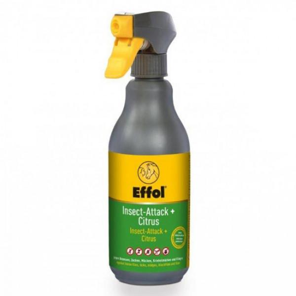 Effol Insect Attack + 500ml Intensiver Mückenschutz für Pferde