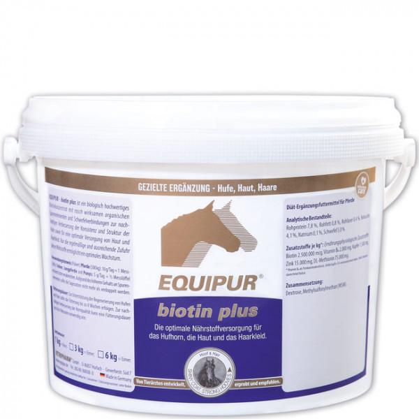 EQUIPUR - biotin plus 3kg Pulver