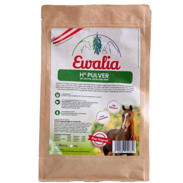 Ewalia H3 Pulver mit Biotin und Zink 3kg