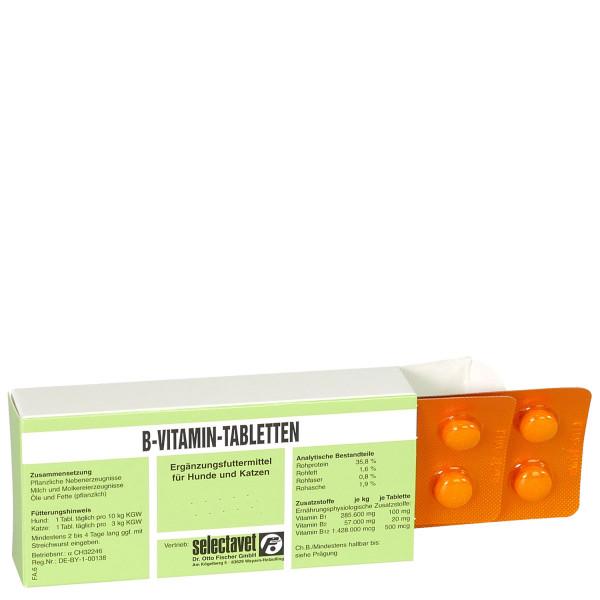 Selectavet B-Vitamin-Tabletten 100 Stk. Hund Katze