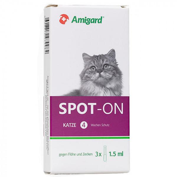 Amigard Spot-On Katze 3x1,5ml