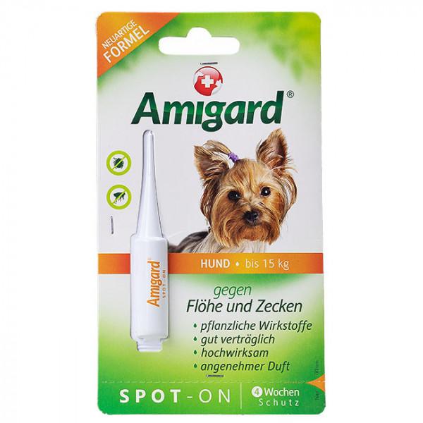 Amigard Spot-On Hund unter 15kg 1x2ml