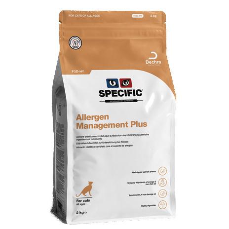 Specific Katze Allergen Management Plus FOD-HY 2kg Trockenfutter