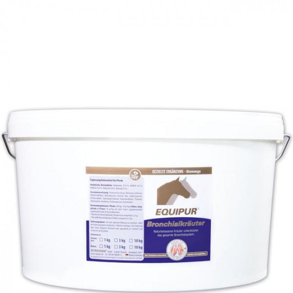 EQUIPUR - Bronchialkräuter 10kg Pellets
