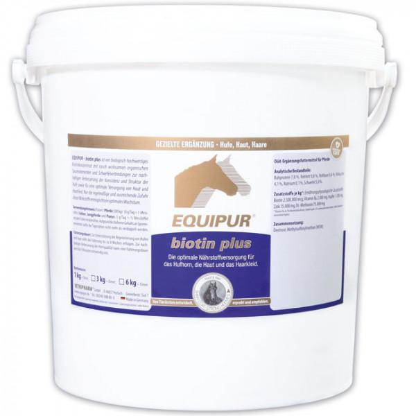EQUIPUR - biotin plus 6kg Pulver