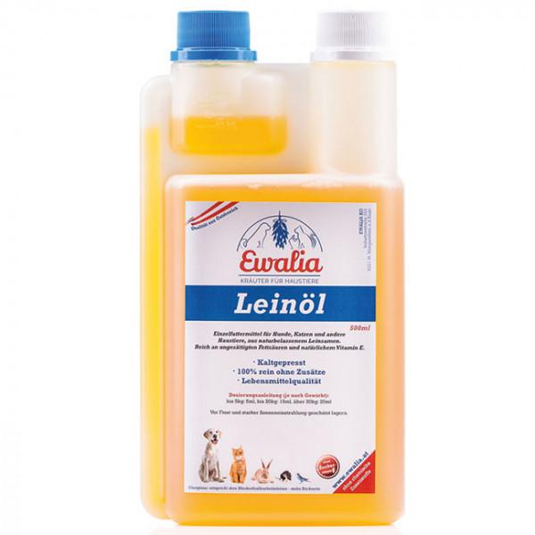 Ewalia Leinöl für Haustiere 500 ml