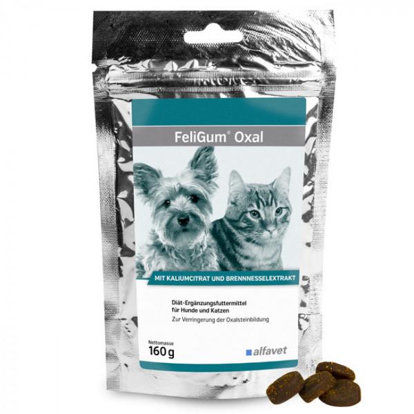 FeliGum Oxal Katzen und kleinere Hunde 80 Kaudrops