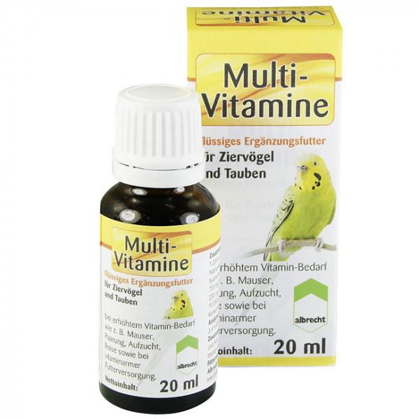 Multi-Vitamine Ziervögel & Tauben 20 ml