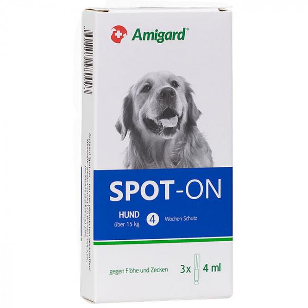 Amigard Spot-On Hund über 15kg 3x4ml