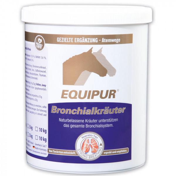 EQUIPUR - Bronchialkräuter 1kg Pellets