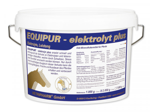 EQUIPUR-elektrolyt plus 3000g