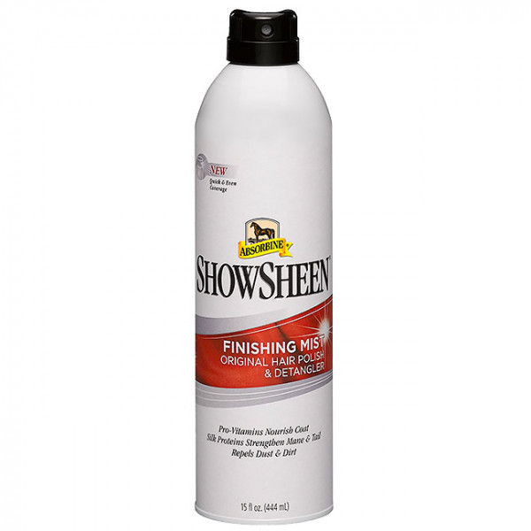 Absorbine ShowSheen Mähnenespray Continous Spray Finishing Mist 444 ml
